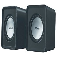 Trust compact 6 Watt 2.0 speaker set Watt RMS Pack 19830