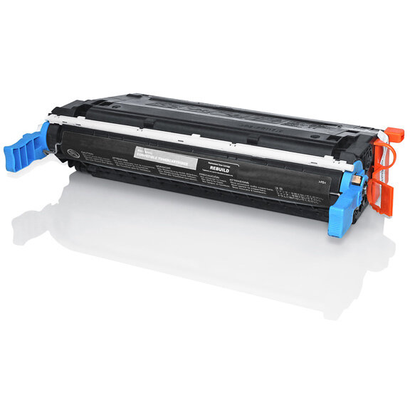 Compatible HP C9720A 641A Black 9000 Page Yield Laser Toner Cartridge