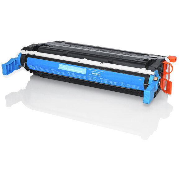Compatible HP C9721A 641A Cyan 8000 Page Yield Laser Toner Cartridge