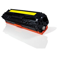 Compatible HP CB542A 125A / Canon 716 Yellow 1400 Page Yield Laser Toner Cartridge