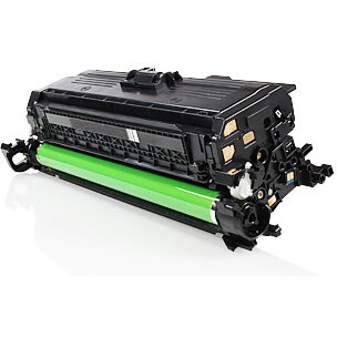 Compatible HP CE400X 507X Black 11000 Page Yield Laser Toner Cartridge