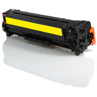 Compatible HP CE412A 305A Yellow 2600 Page Yield Laser Toner Cartridge