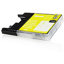 Compatible Brother LC1280XL / LC1240 Yellow 23ml 1200 Pages Ink Cartridge