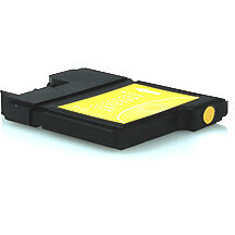 Compatible Brother LC985 Yellow 12ml 260 Pages Ink Cartridge