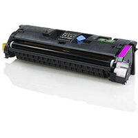 Compatible HP Q3963A / C9703A / Canon 701 Magenta 4000 Page Yield Laser Toner Cartridge