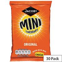 Jacobs Mini Cheddars Original Grab Bag Pack of 30 36564
