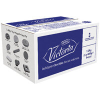 McVities Victoria Catering Assortment Of Chocolate Biscuits 1200g Pack 1 11876