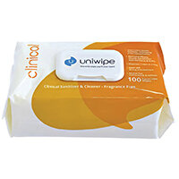 Uniwipe Clinical Wipes Pack of 100 5833