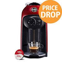 Lavazza Modo Mio Idola Capsule Coffee Machine Red Fire