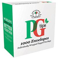 PG Tips Envelope Tea Bags Pack of 1000 68441863