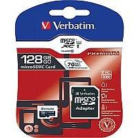 Verbatim Premium 128GB SDXC Micro Card With Adapter 44085