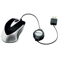 Verbatim Go Mini Optical Travel Mouse Black 49020