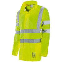 Wurth High-visibility Rain Jacket - REGEN-WARNSCHUTZJACKE GELB GR. S Ref. M009049000