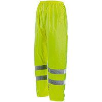 Wurth High-visibility Rain Trousers - REGEN-WARNSCHUTZHOSE GELB GR. XL Ref. M010041003