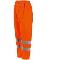 Wurth High-visibility Rain Trousers - REGEN-WARNSCHUTZHOSE ORANGE GR. 3XL Ref. M010042005