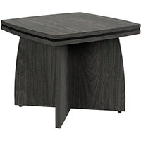 Oskar Square Coffee Table Carbon Walnut