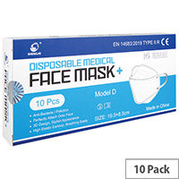 Disposable Ultra Facemask Pack of 10 WX67011