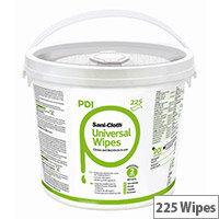 Sanicloth PDI Universal Clean & Disinfect Wipes Bucket (225 wipes per Bucket)