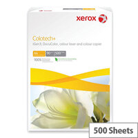A4 White Xerox Colotech+ Gloss Coated Photo Paper 120gsm (Pack of 500)