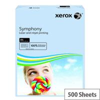 Xerox Symphony Pastel Tints Blue A4 Paper 80gsm Ream 003R93967