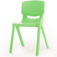 Kite Easy Stack Plastic Classroom Chair 40cm Green - Lightweight, Stackable & Easy To Clean, Ideal For Play-Schools, Pre-Schools, Junior Infants, Senior Infants, Home Use & More!