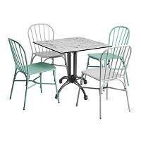Denver Dining Set - Suitable for Indoor & Outdoor Use