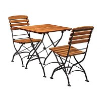 Arch Folding Square Dining Set - Suitable for Indoor & Outdoor Use