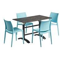 Maya Flip Top Dining Set - Suitable for Indoor & Outdoor Use