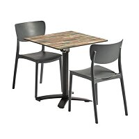 Monna Flip Top Dining Set - Suitable for Indoor & Outdoor Use