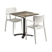 Lisa Flip Top Dining Set - Suitable for Indoor & Outdoor Use