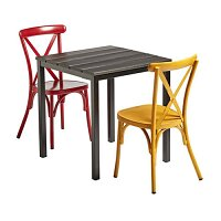 Cafe 2 Person Dining Set - Suitable for Indoor & Outdoor Use