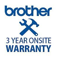 3 Years On Site Warranty for  FAX8360P, HLL5200DW, HLL5200DWT, MFCL5700DN, MFCL5720DW, MFCL6800DW, MFCL6800DWT, MFCL6900DW, MFCL6900DWT, DCPL550DN, DCPL6600DW, HLL6300DW,  HLL6300DWT, HLL6400DW, HLL6400DWT Printers