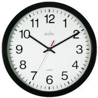 Acctim Controller Wallclock 368Mm Black