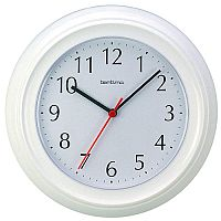 Acctim Wycombe Wall Clock White 21412
