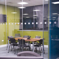 Glazed Office Partitioning Project: Amazon Office Fitout