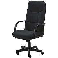 Arista High Back Managers Office Chair Charcoal