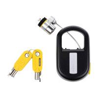 Kensington MicroSaver Retractable - Security cable lock - black - 1.2 m