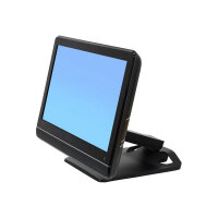 """Ergotron Neo-Flex Touchscreen Stand - Stand for touch screen - black - screen size: up to 27"""""""