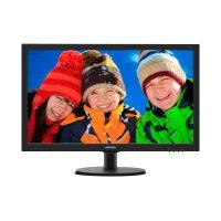 "Philips V-line 223V5LSB - LED Computer Monitor - 21.5"" - 1920 x 1080 Full HD (1080p) - 250 cd/m² - 1000:1 - 5 ms - DVI-D, VGA - matte black, textured black"