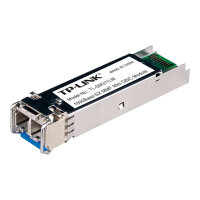 TP-Link TL-SM311LM - SFP (mini-GBIC) transceiver module - GigE - 1000Base-SX - LC multi-mode - up to 550 m - 850 nm