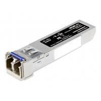 Cisco Small Business MGBLX1 - SFP (mini-GBIC) transceiver module - GigE - 1000Base-LX - LC single-mode - up to 10 km - 1310 nm