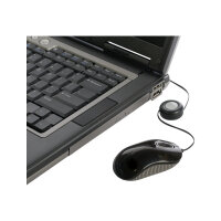 Targus Compact Blue Trace - Mouse - optical - wired - USB - grey, black