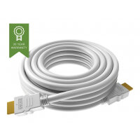VISION Techconnect - HDMI with Ethernet cable - HDMI (M) to HDMI (M) - 0.5 m - white - 4K support