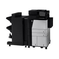 HP LaserJet Enterprise Flow MFP M830z - Multifunction printer - B/W - laser - A3/Ledger (297 x 432 mm) (original) - A3 (media) - up to 56 ppm (printing) - 1100 sheets - 33.6 Kbps - USB 2.0, Gigabit LAN, USB host
