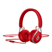 Beats EP - Headphones with mic - on-ear - wired - 3.5 mm jack - noise isolating - red - for 10.5-inch iPad Pro; 12.9-inch iPad Pro; 9.7-inch iPad; 9.7-inch iPad Pro; iPad; iPad 1; 2; iPad Air; iPad Air 2; iPad mini; iPad mini 2; 3; 4; iPad with Retina dis