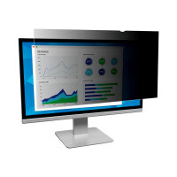 """3M Privacy Filter for 27"""" Widescreen Monitor - Display privacy filter - 27"""" wide - black"""