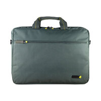 "techair - Notebook carrying shoulder bag -  Laptop Bag 15.6"" - grey"