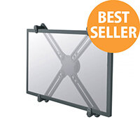 "NewStar VESA Conversion Kit - Convert non-VESA screens to work with VESA mounts - Mounting component (VESA adapter) for LCD display - black - screen size: 10""-27"""