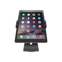 Compulocks Cling Stand - Universal Tablet Counter Top Kiosk - Black - Stand for tablet - black - screen size: up to 13""