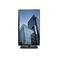 "Samsung SH85 Series S27H850QFU - LED Computer Monitor - 27"" (26.9"" viewable) - 2560 x 1440 - Plane to Line Switching (PLS) - 350 cd/m² - 1000:1 - 4 ms - HDMI, DisplayPort - black"